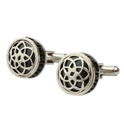 Aooaz Mens Cufflinks Classic Round French Shirt Cufflinks For Men Charm Style