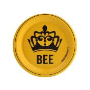 Black Yellow Queen Bee Party Supplies Dessert Plate