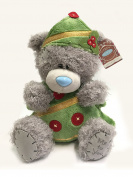Me To You 28cm Tatty Christmas Bear Dressed As Christmas Tree