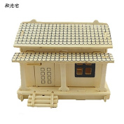 Wooden Scale Model DIY Toy 3D Puzzle Log Cabin