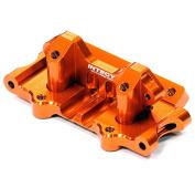Integy Hobby RC Model T8641ORANGE Billet Machined T3 Front Bulkhead for 1/10 Rustler/Stampede 2WD/Slash 2WD