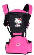 OGTOP Baby Garden Multi-functional Breathable Triple Baby Lapel Baby Strap,Pink