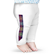 Twisted Envy Floral Gypsy Bohemian Baby Printed Leggings Trousers