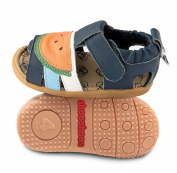 ShooShoos Baby Boys' First Walking Shoes blue blue