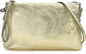GIANNI CHIARINI Women's Clutch gold Lightgold