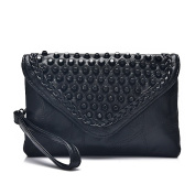 Leather Large Capacity Holding Banquet Bag Envelope Bag Lady Clutch