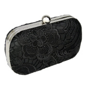 Ladies Lace Evening Clutch Bag - Wedding Party Prom