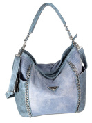 Jennifer Jones Women's Shoulder Bag Jeans-Blue