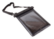 Black Transparent Water Resistant Secure Tablet Slide-In Carry Bag for the Apple iPad Pro 10.5 - by DURAGADGET