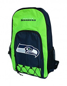 Seattle Seahawks Echo Bungi Style Backpack - Lime Green & Navy Blue …