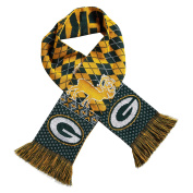 Green Bay Packers Ugly Reindeer Reversible Scarf - NFL Fashion Winter Knit Scarf