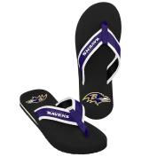 NFL Baltimore Ravens Men's 2013 Contour Flip Flop, X-Large, Black