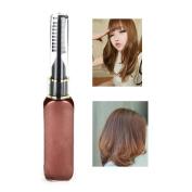 Hair Mascara Dark Brown,Molie Professional Hair Dye Temporary Hair Colour Non-toxic Streaks Touch Up 10ml
