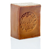 "Olive Oil Soap ""Aleppo"" 45% Oliveoil & 55% Laurel Oil, 200 g - for skin, hair, body and face natural soap"