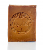 "Olive Oil Soap ""Aleppo"" 60% Oliveoil & 40% Laurel Oil, 200 g - for skin, hair, body and face natural soap"