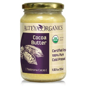 Alteya Organic Cocoa Butter 350ml - 100% USDA Certified Organic Pure Natural Refined Cocoa Butter
