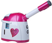 Pink Hot and Cool Mist Facial Steamer With UV Sterilisation Function Warm Mist Face Steamers With Aromatic box