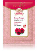 Rose Petal Body Salt Scrub, TianDe 32606, 60g, Fragrant Gommage for Perfectly-Smooth Skin
