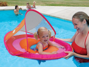 Swimways, a water-full life! baby spring float sun canopy