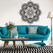 Euone Mandala Flower Indian Bedroom Wall Decal Art Stickers Mural Home Vinyl Family