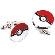 Pokemon Cufflinks For Mens Cuff Links Enamel Cufflink cuff buttons The pocket monster magical baby Pokemon Go cufflink