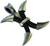Bico Raw Touch Pendant & Adjustable Rubber Necklace (SBA5) - facing one way, seeing all ways