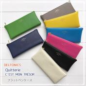 DELFONICS Quitterie series flat pen case