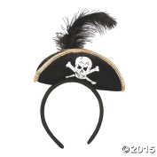Plush Pirate Headband