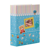 Cosmo Blue Baby Photo Album for 200 Photos 10 x 15 cm