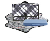 Cystyle Portable Changing Mat Changing Table for Travel Baby Changing Mat Waterproof and Durable Best Gifts Quick and Easy Wrap Kit