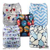 LittleBloom, Reusable Pocket Cloth Nappy, Fastener