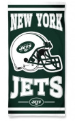 New York Jets Fibre Reactive Beach Towel - 80cm x 150cm