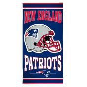 NFL New England Patriots Fibre Beach Towel, 80cm x 150cm