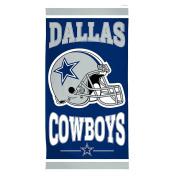 NFL Dallas Cowboys Fibre Beach Towel, 80cm x 150cm