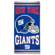 NFL Officially Licenced New York Giants 80cm x 150cm Cotton Beach Towel