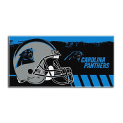 The Northwest Company NFL Carolina Panthers Game Plan Oversized Beach Towel, 90cm by 180cm