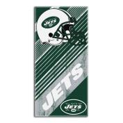The Northwest Company NFL New York Jets Diagonal Beach Towel, 70cm by 150cm
