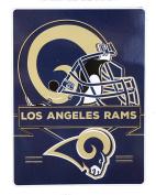 Northwest Los Angeles Rams NFL Prestige Series Royal Plush Raschel Blanket