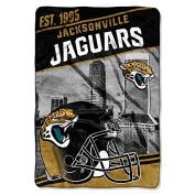 Northwest NFL Jaguars Multicoloured Twin Bed Blanket