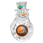 NFL Cleveland Browns Traditional Snowman Ornament