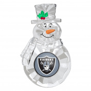 NFL Oakland Raiders Traditional Snowman Ornament