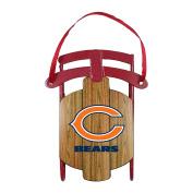NFL Chicago Bears Metal Sled Ornament