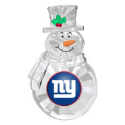 NFL New York Giants Traditional Snowman Ornament