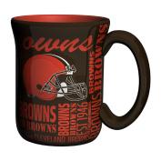 NFL Cleveland Browns Sculpted Spirit Mug, 500ml, Brown