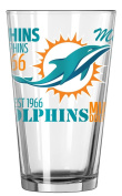 Miami Dolphins Official NFL 470ml Spirit Pint Glass …