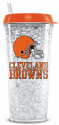 Cleveland Browns Crystal Freezer Travel Tumbler