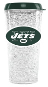 New York Jets Crystal Freezer Travel Tumbler