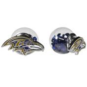 NFL Baltimore Ravens Front/Back Stud Earrings