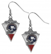 NY Giants Dangle Earrings - NFL Football Fan Shop Sports Team Merchandise