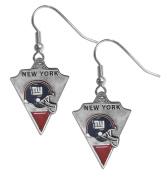 New York Giants Dangle Earrings - NFL Football Fan Shop Sports Team Merchandise